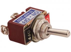 Kipp-Schalter (on-off) mit Schraubklemmen, M12x1,0 Kipp-Schalter (on-off) mit Schraubklemmen, M12x1,0