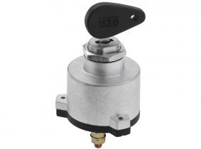 Starter-Schlüsselschalter 2 Funktionen, Benzin-Motoren, 3 Schraubkontakte Starter-Schlüsselschalter 2 Funktionen, Otto Motor