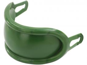 Kunststoff-Schutzkappe für vorderes Zugmaul grün Kunststoff-Schutzkappe für vorderes Zugmaul grün