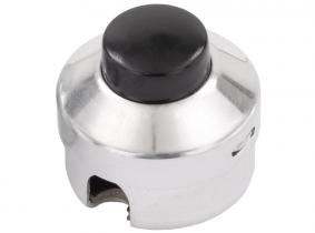 Aufbaudruckknopf Hupe, Alugehäuse 27mm Aufbaudruckknopf Hupe, Alugehäuse 27mm