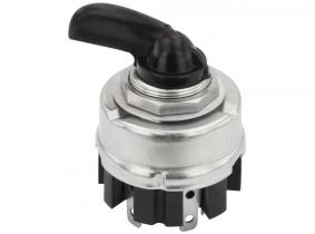 Zweikreis-Blinkerschalter Bosch-Replika schwarzer Griff Zweikreis-Blinkerschalter Bosch-Replika schwarzer Griff