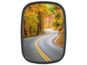 Universal Fahrzeugspiegel Kunststoff gewölbt 194x142mm Universal Fahrzeugspiegel Kunststoff gewölbt 194x142mm