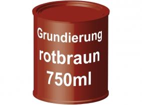 Grundierung rotbraun Kunstharz schnelltrocknend 750ml Dose Grundierung rotbraun Kunstharz schnelltrocknend 750ml Dose