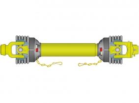 AW35-2120Nm-Scherbolzenwelle 1210mm (Z39,5/48,0) WEASLER AW35-2120Nm-Scherbolzenwelle 1210mm (Z39,5/48,0) WEASLER