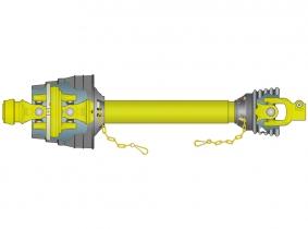 AW21-80° Weitwinkelwelle eins. 1210mm (Z34,5/41,0) WEASLER AW21-80° Weitwinkelwelle eins. 1210mm (Z34,5/41,0) WEASLER