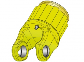 AW21/AB4 Sternratschenkupplung 600Nm-55mm (1 3/8'' x 6) AW21/AB4 Sternratschenkupplung 600Nm-55mm (1 3/8'' x 6)