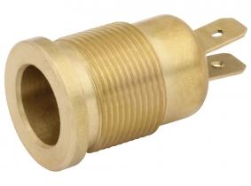 AdLuminis 2-pol Einsatz mit Gewinde für Aufsteckrohr für Rundumleuchte AdLuminis 2-pol Einsatz mit Gewinde für Aufsteckrohr für Rundumleuchte