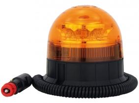 AdLuminis LED-Mini-Rundumleuchte mit Magnetfuß AdLuminis LED-Mini-Rundumleuchte mit Magnetfuß bis 100 km/h Fahrgeschwindigkeit