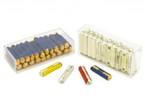 KFZ Rundstecksicherungen GBC5 5A (gelb) 20 Stück KFZ Rundstecksicherungen GBC5 5A (gelb) 20 Stück