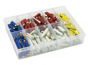 Kfz Rundstecksicherungen (GBC) Sortiment im Kunststoffkasten 200-tlg. Kfz Rundstecksicherungen (GBC) Sortiment im Kunststoffkasten 200-tlg.
