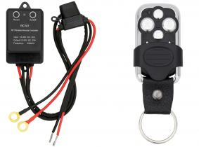 AdLuminis Universelle Funk Fernbedienung T-RC101 einfach 10 - 30 Volt DC mit Handsender