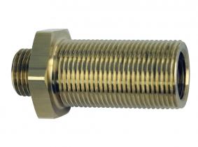 Doppel-Schottstutzen mit Innengewinde L 40mm Doppel-Schottstutzen mit Innengewinde L 40mm