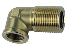 Winkel-Schottstutzen mit Innengewinde M22x1,5mm Winkel-Schottstutzen mit Innengewinde M22x1,5mm