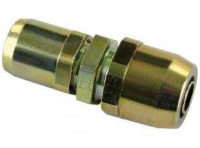 WIRA Reduzier-Steckverbinder gerade Rohrgröße D1 8x1 D2 6x1 WIRA Reduzier-Steckverbinder gerade Rohrgröße D1 8x1 D2 6x1