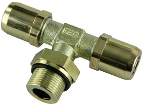 WIRA T-Einschraubsteckverbinder Rohrgröße 6x1 Gewinde M16x1,5 WIRA T-Einschraubsteckverbinder Rohrgröße 6x1 Gewinde M16x1,5