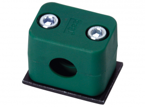 6mm , Typ C2 Einfachrohrschelle aus Kunststoff 6mm , Typ C2 Einfachrohrschelle aus Kunststoff