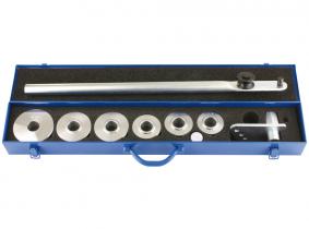 Rohrbiegevorrichtung f. Hydraulikrohre 6-18mm im Metallkast. Rohrbiegevorrichtung f. Hydraulikrohre 6-18mm im Metallkast.