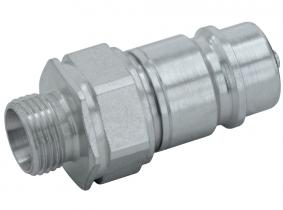 Hydraulik-Stecker (Pilzventil) 10L -M16x1,5AG (BG 3) Hydraulik-Stecker (Pilzventil) 10L -M16x1,5AG (BG 3)