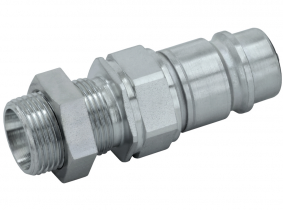 Hydraulik-Schott-Stecker (Pilzventil) 12L-M18x1,5 AG (BG3) Hydraulik-Schott-Stecker (Pilzventil) 12L-M18x1,5 AG (BG3)