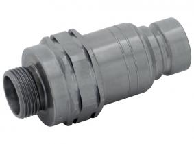 Hydraulik-Stecker (flachdichtend) 12L-M18x1,5 AG (BG2) Hydraulik-Stecker (flachdichtend) 12L-M18x1,5 AG (BG2)
