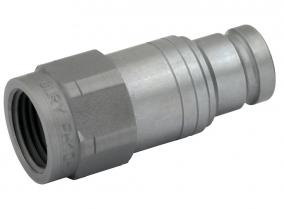 Hydraulik-Stecker (flachdichtend) 1/2'' IG  (BG2) Hydraulik-Stecker (flachdichtend) 1/2'' IG  (BG2)