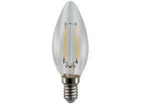 AdLuminis LED-Filament Candle C35 klar 2W E14 AdLuminis LED-Filament Candle C35 klar 2W E14
