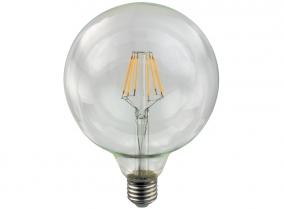 AdLuminis LED-Filament Globe G125 klar 2W E27 AdLuminis LED-Filament Globe G125 klar 2W E27