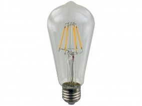 AdLuminis LED-Filament Edison ST64 klar 2W E27 AdLuminis LED-Filament Edison ST64 klar 2W E27