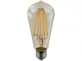 AdLuminis LED-Long-Filament Amber ST64 goldfarben 2W E27 AdLuminis LED-Long-Filament Amber ST64 goldfarben 2W E27