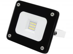 AdLuminis SMD LED Fluter 10W 900 Lumen schwarz Glas-Design AdLuminis SMD LED Fluter 10W 900 Lumen schwarz Glas-Design