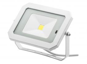 Projecteur LED 30W 2.400lm blanc avec détecteur de mouvement intégré AdLuminis Projecteur LED 30W 2.400lm blanc avec détecteur de mouvement intégré AdLuminis