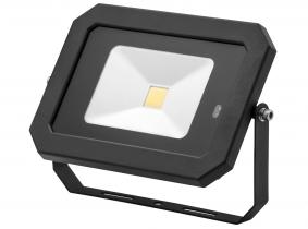 Projecteur LED 30W 2.400lm noir avec détecteur de mouvement intégré AdLuminis Projecteur LED 30W 2.400lm noir avec détecteur de mouvement intégré AdLuminis