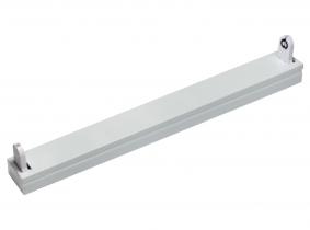 Réglette pour un tube LED T8 60 cm métal AdLuminis Réglette pour un tube LED T8 60 cm métal AdLuminis