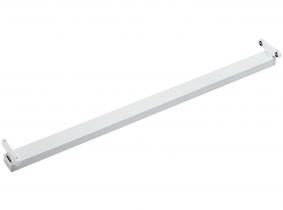 Réglette pour deux tubes LED T8 120 cm métal AdLuminis Réglette pour deux tubes LED T8 120 cm métal AdLuminis
