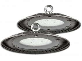 2x Cloche LED UFO high bay 60W 6.000lm suspension industrielle AdLuminis 2x Cloche LED UFO high bay 60W 6.000lm suspension industrielle AdLuminis