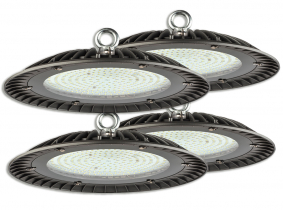 4x Cloche LED UFO high bay 200W 20.000lm suspension industrielle AdLuminis 4x Cloche LED UFO high bay 200W 20.000lm suspension industrielle AdLuminis