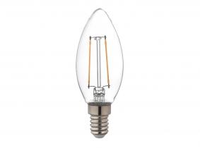 AdLuminis LED Filament Fadenlampe E14 Candle klar 2.000K 2,5W 250 Lumen AdLuminis LED Filament Fadenlampe E14 Candle klar 2.000K 2,5W 250 Lumen