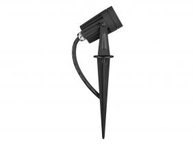 AdLuminis LED Gartenstrahler 3W 230V mit Erdspieß und Farbfilter AdLuminis LED Gartenstrahler 3W 230V mit Erdspieß und Farbfilter