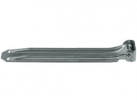 320mm Klappscharnier mit Scharnierbock verzinkt 320mm Klappscharnier mit Scharnierbock verzinkt