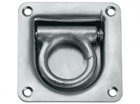 Zurrmulde 800daN 105x105mm (100° schwenkbar), verzinkt Zurrmulde 800daN 105x105mm (100° schwenkbar), verzinkt