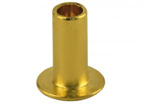 3x8mm Kupferniete halbhohl nach DIN 7338 für Bremsbeläge 3x8mm Kupferniete halbhohl nach DIN 7338 für Bremsbeläge