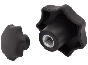 Sterngriff (d=25mm) Polyamid Innengewinde M5 Sterngriff (d=25mm) Polyamid Innengewinde M5