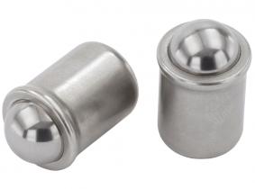 Federnde Druckstücke zum Einpressen d=5mm, l=6mm Federnde Druckstücke zum Einpressen d=5mm, l=6mm
