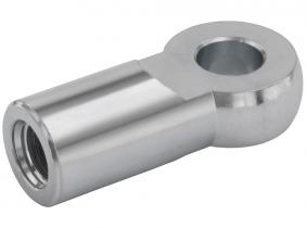 Gelenkstück (für Gabelgelenk DIN 71752) -M6, d=6mm Gelenkstück (für Gabelgelenk DIN 71752) -M6, d=6mm