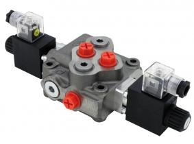 WALVOIL elektromagnetisches Monoblocksteuergerät SD5/1 1xdoppeltwirkend 12V mit opt. Druckweiterführung, Federrückstellung und Überdruckventil WALVOIL elektromagnetisches Monoblocksteuergerät SD5/1 1xdoppeltwirkend 12V mit opt. Druckweiterführung, Federrückstellung und Überdruckventil
