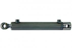 Hydraulikzylinder doppeltwirkend 16/25 100mm Hub mit Buchse Hydraulikzylinder doppeltwirkend 16/25 100mm Hub mit Buchse