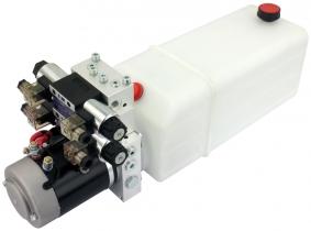 POWER-PACK (M-P-T) 12V/2KW/2,6ccm  5L-Tank - 2 x doppeltwirkend POWER-PACK (M-P-T) 12V/2KW/2,6ccm  5L-Tank - 2 x doppeltwirkend