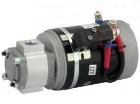 POWER-PACK Motor-Pumpe 12V/2KW/2,6ccm/G1/2'', L.-Relais POWER-PACK Motor-Pumpe 12V/2KW/2,6ccm/G1/2'', L.-Relais