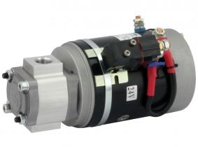 POWER-PACK Motor-Pumpe 24V/2KW/2,6ccm/G1/2'', L.-Relais POWER-PACK Motor-Pumpe 24V/2KW/2,6ccm/G1/2'', L.-Relais