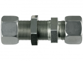 Gerade Schottverschraubung S6-M14x1,5 mit M+S Gerade Schottverschraubung S6-M14x1,5 mit M+S